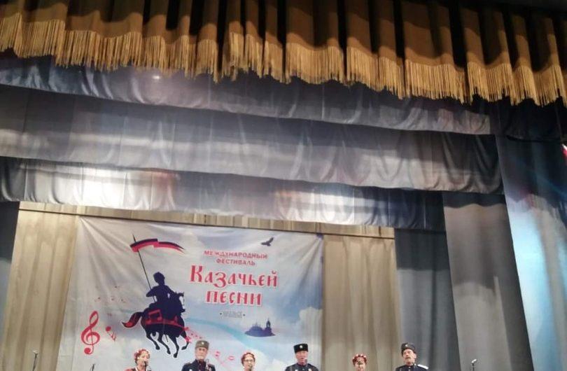 Наши казаки Сергей Литунов и ансамбль «Хуторяне» отличились в Уральске