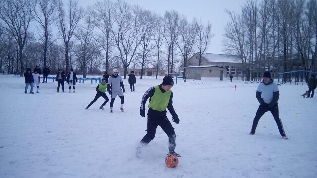 Зимний мини-футбол в Фурманове