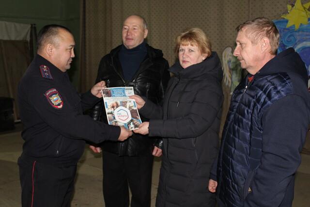 В Первомайском районе проводятся отчеты участковых уполномоченных полиции