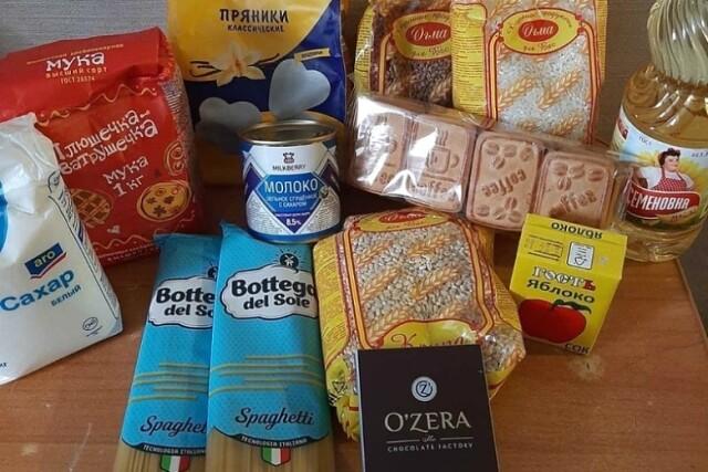 В Оренбуржье полным ходом идет раздача школьникам продуктовых наборов