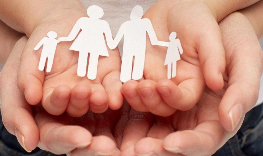 Помоги большой семье