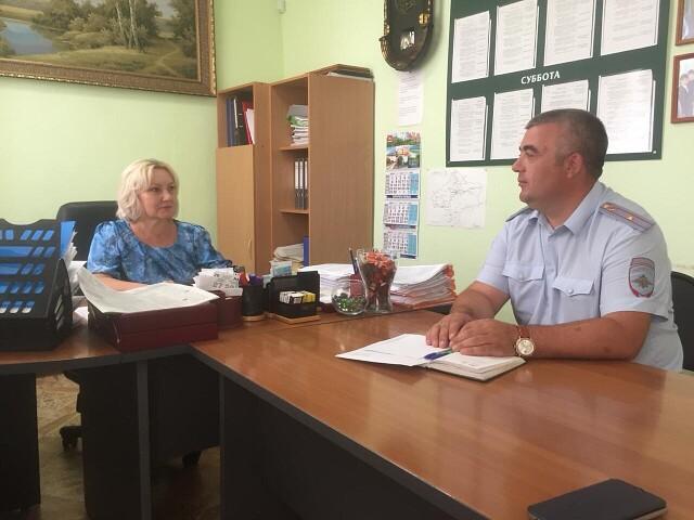 Первомайские полицейские провели рабочую встречу с руководством районной газеты «Причаганье»