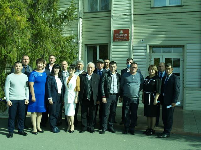 Новый состав Совета депутатов района начал работу