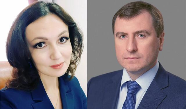 Романа Цуканова и Евгению Ивлеву утвердили на должности заместителей министра региональной и информационной политики Оренбургской области