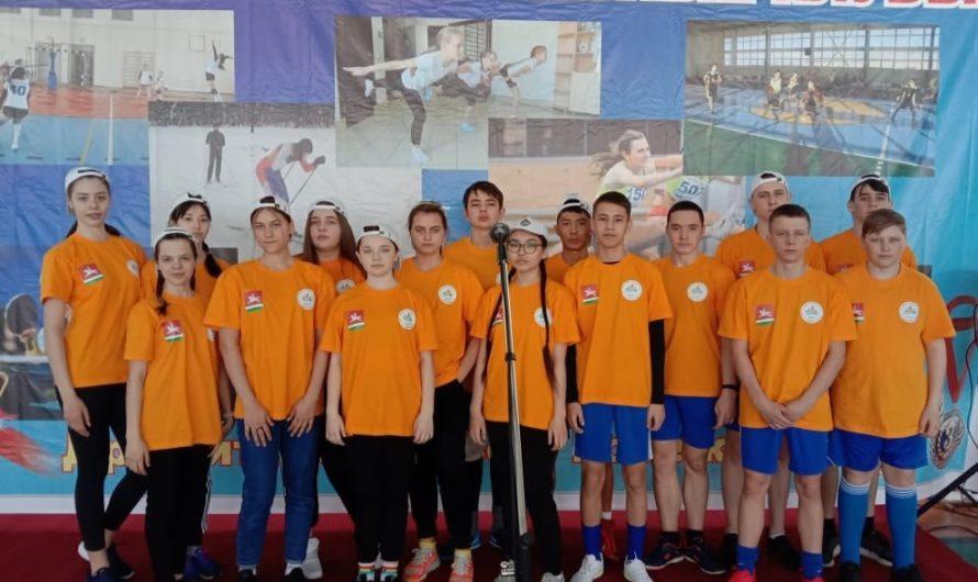 Первомайские школьники стали победителями зонального этапа областных игр «Старты надежд»