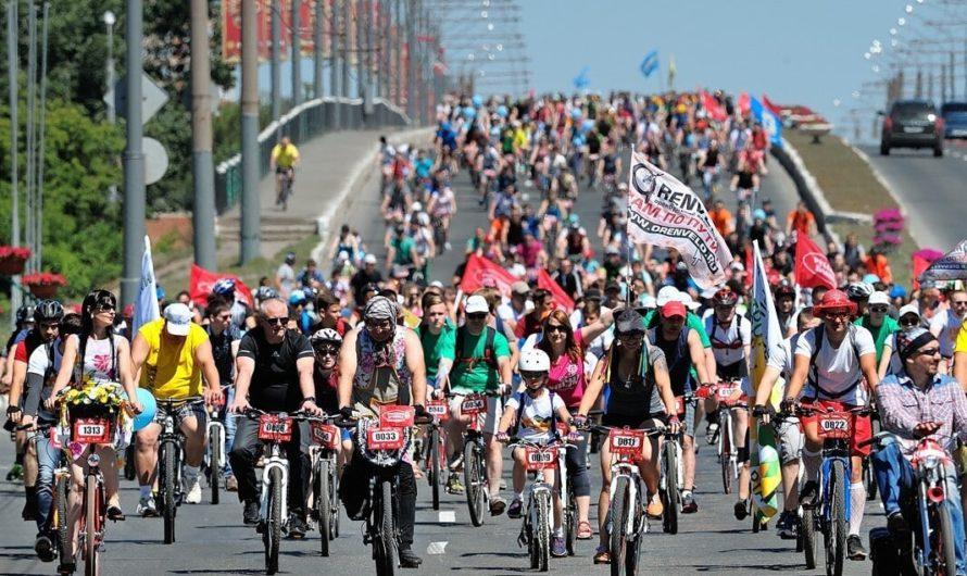 6 июня в Оренбурге состоится велопарад, посвящённый Всемирному дню велосипедиста, традиционно отмечаемому в мире 3 июня