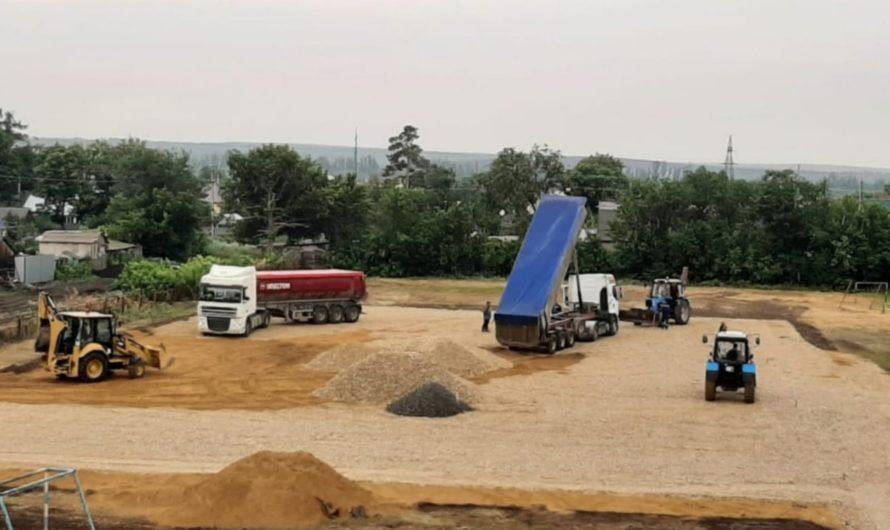 В Первомайской средней школе будет новая спортивная площадка