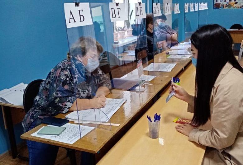 Итоги голосования в Первомайском районе